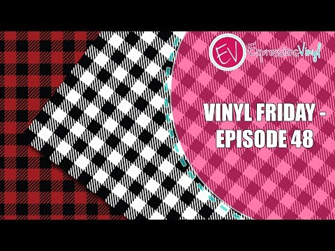 Vinyl Friday with Mandy from Sugar Bee Crafts using fun Plaid Vinyl