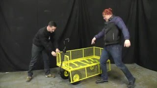How to Assemble a Garden, Festival Cart from SafetyLiftinGear.com.