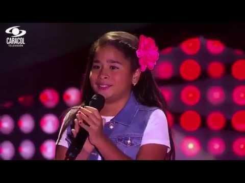 Nicole cantó 'Single ladies' de Beyoncé - LVK Colombia- Audiciones a ciegas - T1