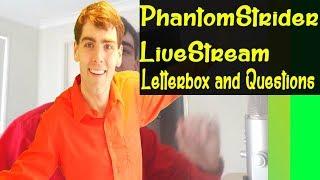 PhantomStrider LiveStream Q&A and Cartoon Quizzes