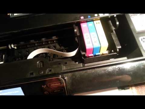 HP photoset 5512 not printing black easy fix