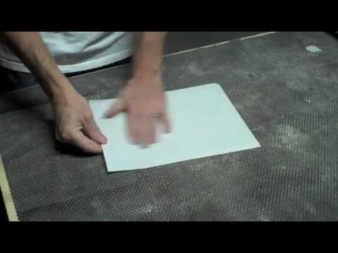 How to transfer an inkjet print onto wood youtube for Printer transfer paper for wood