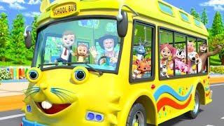 Wheels On The Bus   Nursery Rhymes & Kids Songs by Little Treehouse