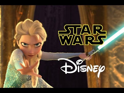 Star Wars Disney - Let it Flow - Let it Go Frozen Parody