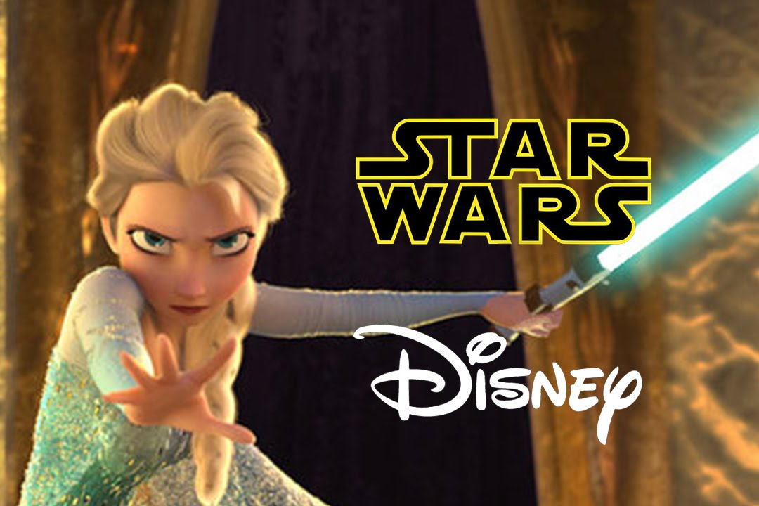 Star Wars Disney Crossover Star Wars Disney Let it Flow