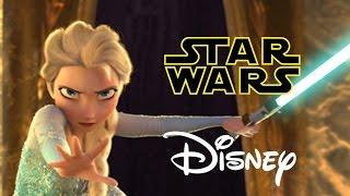Star Wars Disney - Let it Flow - Let it Go Frozen Parody