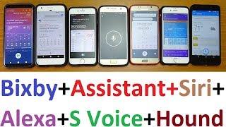 Bixby Voice Vs Siri Vs Alexa 2018