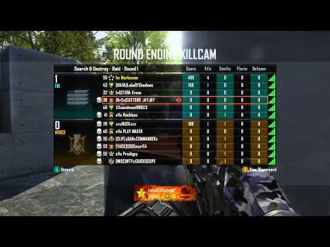 Black Ops 2 Search and Destroy   Live Commentary Vector