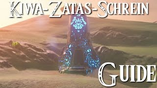 ZELDA: BREATH OF THE WILD - Kiwa-Zatas-Schrein Guide