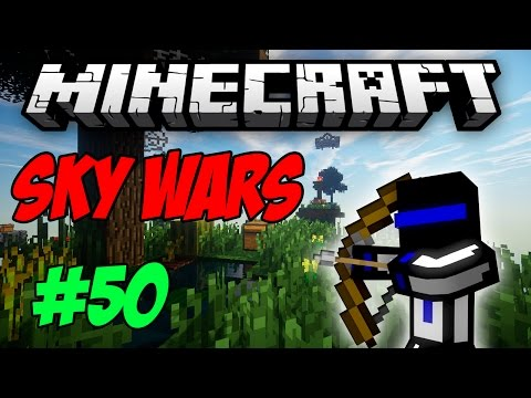 НАД ГОЛОВОЙ! 50 Sky Wars - MINECRAFT
