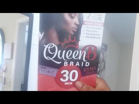 Review QUEEN B BRAID Hair
