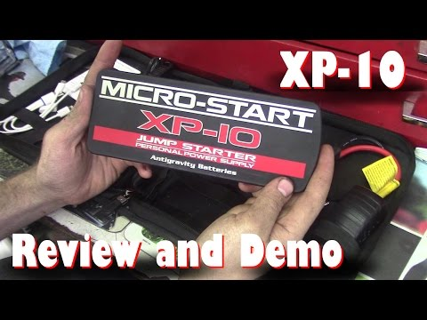Antigravity Micro-Start XP-10 Jump Starter (PPS) - Starting Dead 35hp Diesel Tractor- Review/ Demo