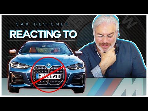 BMW X5 Designer Picks Apart The NEW 4 Series!