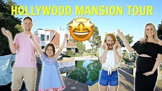 OUR EPiC HOLLYWOOD MANSiON TOUR!! 🤩