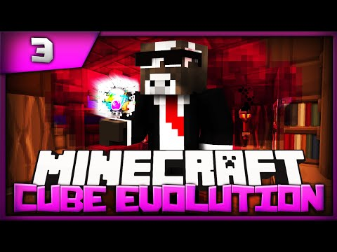 Minecraft Cube Evolution - Episode 3 - Growing Coal ( Minecraft The Cube SMP Evolved )