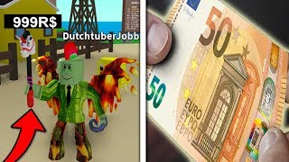 50 EURO SPENDEREN AAN 2 MYTIC BOXES! *5999 ROBUX* (Roblox Egg Farm Simulator)