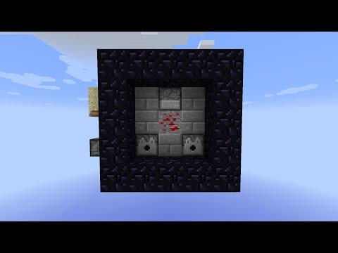 Auto Nether Portal - Minecraft Tutorial