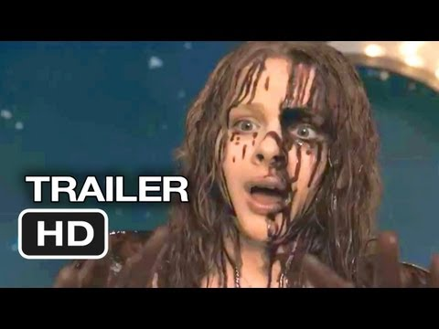 Carrie Official Trailer #1 (2013) - Chloe Moretz. Julianne Moore Movie HD