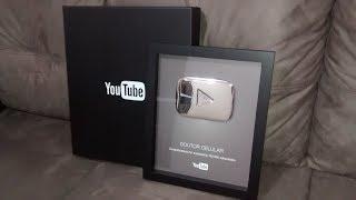 Dr.Celular - Unboxing Placa de 100 Mil Inscritos e Agradecimentos =)