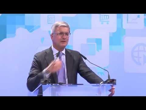 Digitaler Wandel in Kreativwirtschaft, Handel und Mobilität: Rede von Prof. Rupert Stadler