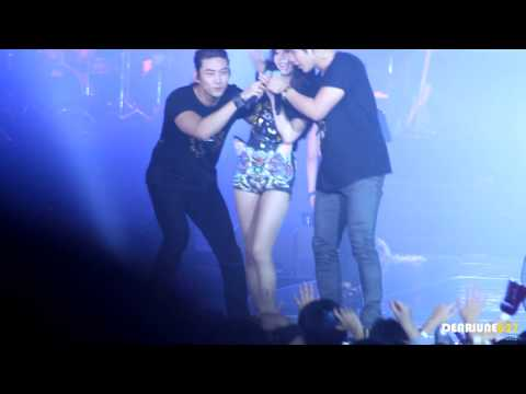 [HD fancam] Sohee ~ Hands up ending - JYP Nation 2012