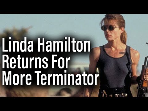Linda Hamilton Returns To Terminator - New Film A Direct Sequel To Judgement Day