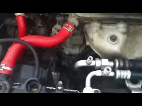 D16y7 civic thermostat; radiator air bleed w test run