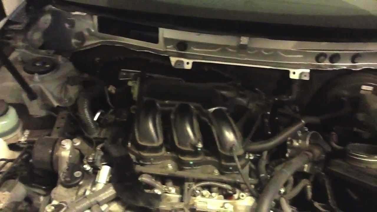 2009 toyota camry wiring diagram 2007 camry xle v6 changing rear spark plugs youtube camry wiring toyota diagram 2009