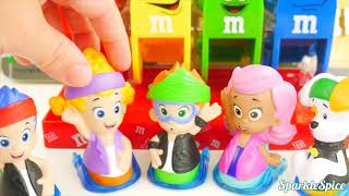 Nick Jr  Bubble Guppies Bad Kid Steals Chocolate M&M's Candy Jail Rescue IRL Kids | Sparkle Spice