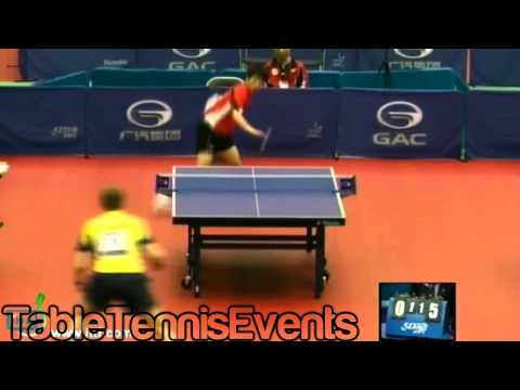 Jorgen Persson Vs Yeh Chih-Wei : Qualification Groups [Japan Open 2012]