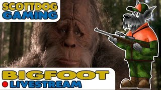 Previous Live Stream - Finding Bigfoot - multiplayer with the SMG