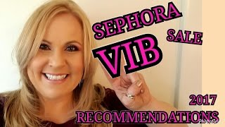 MY SEPHORA VIB SALE RECOMMENDATIONS SPRING 2017 | MrsMelissaM | OPEN GIVEAWAY SEE BOX