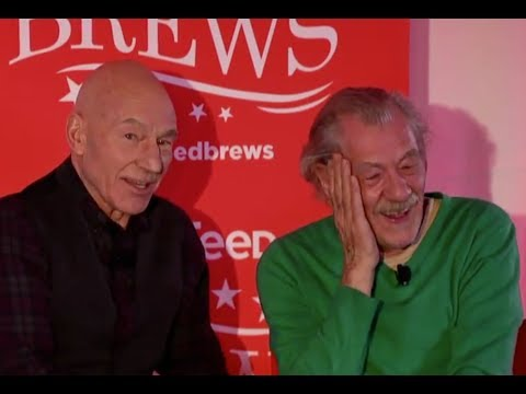 Patrick Stewart and Ian McKellen Do Impressions Of Each Other