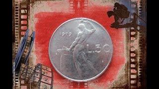 Coin Italy  monete 50 lire 1979  L50 Repubblica Italiana / italian lira coins / монета 50 лир Италия