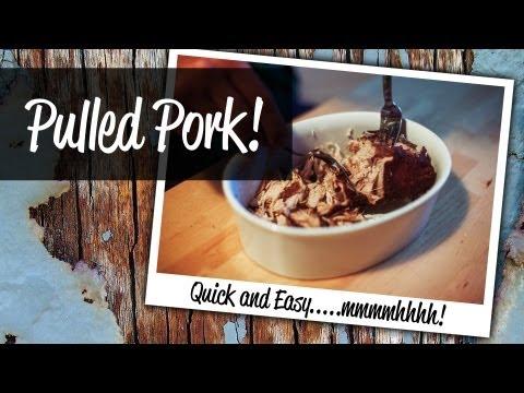 Pulled Pork Rezept - Zubereitung in 99 Minuten