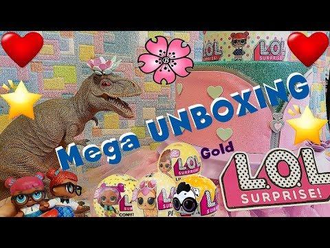 LoL Surprise #93 MEGA UNBOXING Serie 3 wave 1 e 2... per NOi o per il Romics?! By Lara e Babou