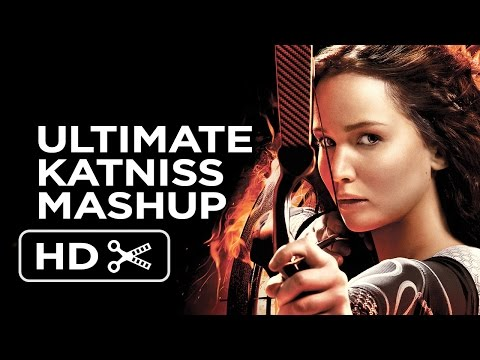 Katniss Everdeen - The Ultimate Girl On Fire Mashup (2014) - Jennifer Lawrence Movie Hd video