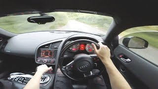 THE BEST SOUNDING AUDI R8 OF ALL TIME? (Manual V8 POV Drive)