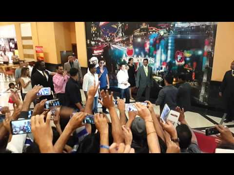 Sachin Tendulkar in arabian center event