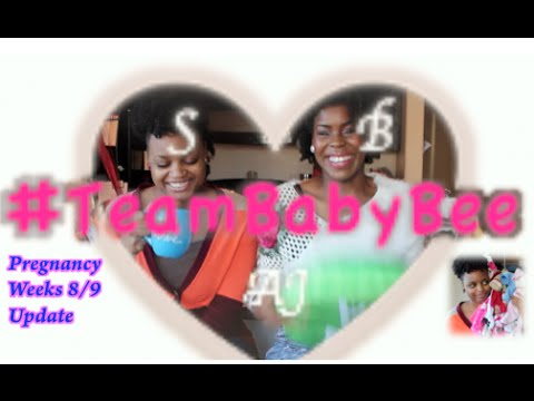 M&m Mondays! Lesbian Pregnancy Weeks 8-9! Scary Moment + Dry Neck + Baby Buys#2 video