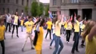 Flash Mob -  Up to Faith Global Dance 2013  Switzerland