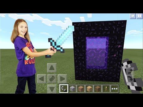 Обзор игрушек Minecraft от Светы и майнкрафт на планшете.