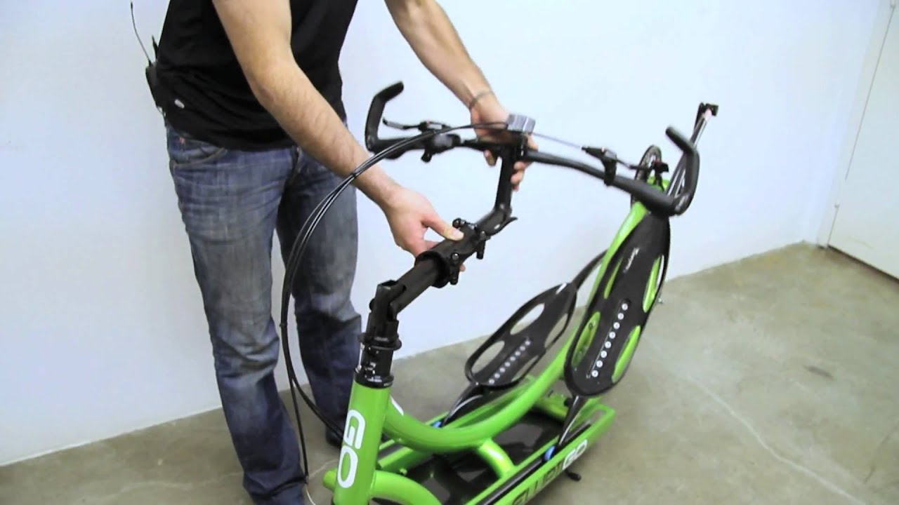 Elliptical Bike For the sake of this post, we're going to assume we're talking about a machine that can be used as an elliptical trainer – and as an exercise bike. But not both at the same time – either or.