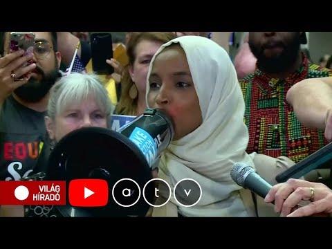 Beengedik Izraelbe az amerikai muszlim képviselőnőt