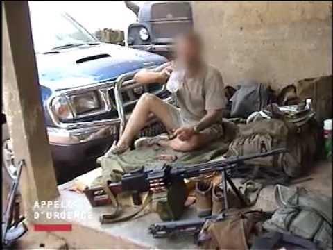 """Reportage """"mercenaires en Côte d'Ivoire"""" 2003"""