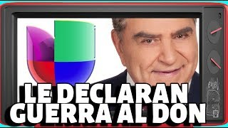 Univision le declara la guerra a Don Francisco