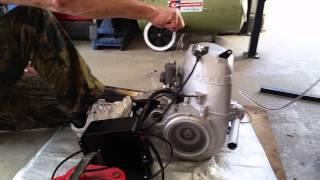 Starting the Messerschmitt KR200 Motor, Sachs Motor