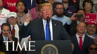 "Trump Says Brett Kavanaugh Is A ""Fine Fine Person"" 