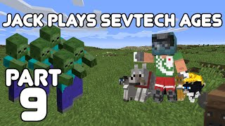 Kittens and Age 2? Jack plays Minecraft: SevTech Ages Part 9
