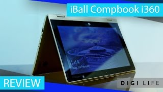 iBall CompBook i360 Laptop Review | Digi Life
